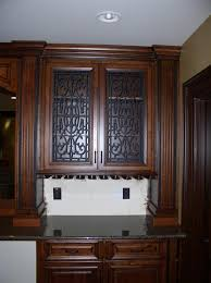 kitchen cabinet design names cabinet door panel insert in decorative iron design name andrea available in copper and stainless