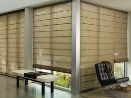 patio door window treatments roman shades best sliding eadca