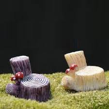 Stump Chair Fairy Garden Supplies Fairies Gnomes Homes All In One Place