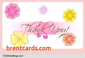 free thank you ecards 123 greetings cards thank you awesome enough reasons to thank you