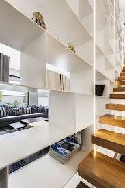 wall of shelves 161 best stairs images on pinterest stairs architecture and