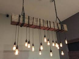 9 Bulb Chandelier Edison Light Bulb Chandelier Themodjo