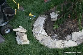 gardening with greggo field stone edging diy