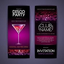 invitation card design template for event creative event invitation card design free free vector download