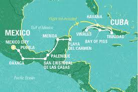Map Of Oaxaca Mexico A Taste Of Mexico U0026 Cuba Mexico Tours Geckos Adventures Au