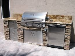Backyard Pro Grill by Triyae Com U003d Backyard Built In Grill Ideas Various Design