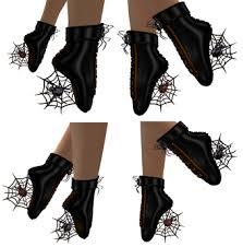 Halloween Costume Boots Marketplace S2s Black Widow Ballet Shoes