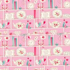 dolls house wallpaper 1 12th 1 24th scale pink kitchen quality