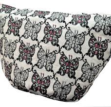 Shoulder Design - ethnic pattern white black seat angle shoulder tote bag