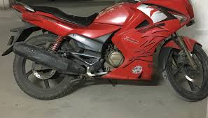 hero karizma zmr red from noida delhi one of the best