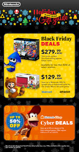 black friday new 3ds xl nintendo hardware bundles game deals highlight great values for