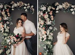 wedding arches home depot extravagant beautiful faux flowers afloral