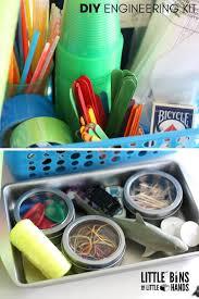 dollar store engineering kit for kids stem activities