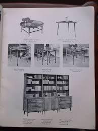 furniture catalog vintage lane furniture table portfolio catalog fall 1964 ebay