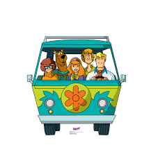 lego scooby doo build your own mystery machine toy review mystery machine scooby doo mystery incorporated cardboard standup