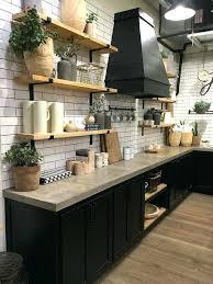 plaque m騁al cuisine stunning cuisine noir mat et bois contemporary design trends
