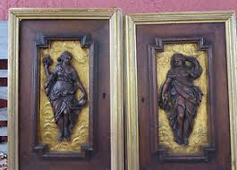 carved wood cabinet doors antique french black florest hand carved wood cabinet doors nymph