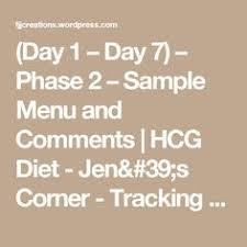 hcg diet plan food list u0026 meal plan menu guide hcg pinterest