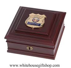 keepsake box policemen and policewomen keepsake box enforcement officers