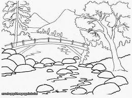 drawing children nature drawing sketch
