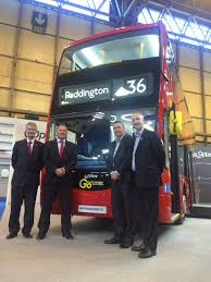 optare fully electric double deck launched at euro bus expo 2016