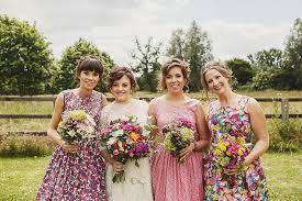 wedding dress garden party diy wedding at the garden barn in suffolk with vintage dresses