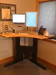 Standing Corner Desk Corner Standing Desk Build Homesfeed Onsingularity