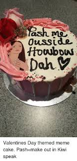 Meme Cake - 0uss ide houbous dahy kiaae20 valentines day themed meme cake pash