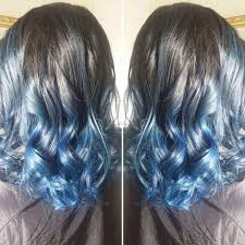 hair color light to dark appealing blue ombre hair color light and dark shades pics for style