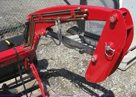 compact tractor front end loader item h5421 sold august