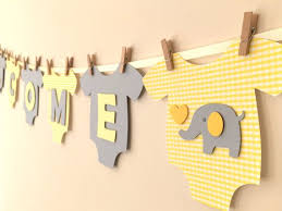 baby shower banners baby one bodysut welcome baby gender neutral baby shower