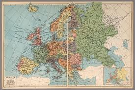 European Map 1914 by Europe David Rumsey Historical Map Collection