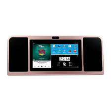 android tablet azpen tabletop 7 16gb android tablet with dual speakers