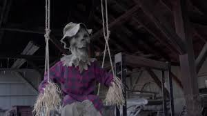 my spirit halloween props swinging scarecrow reveal spirit halloween 2016 youtube