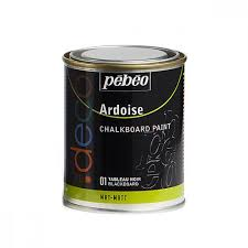 tableau verre transparent pour ecrire peinture ardoise tableau noir 250ml loisirs créatifs peintures