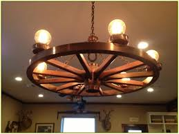 Diy Antler Chandelier Wagon Wheel Chandelier Diy Home Design Ideas
