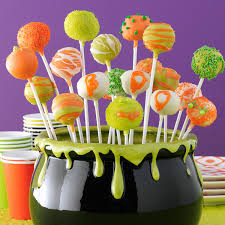 Halloween Cheese Cake by Halloween Cheesecake Pops Recipe Taste Of Home