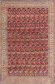 Red And Blue Persian Rug by Bidjar Rugs Antique Persian Rug Collection Blue Background All