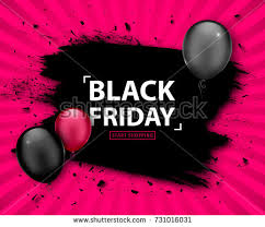 black friday pink sale black friday sale poster seasonal discount stock vector 731425120