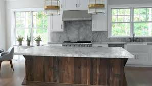 Reclaimed Kitchen Island Reclaimed Wood Kitchen Island Or Kitchen With Salvaged Wood Island