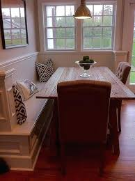 dream of mine to have a corner bench dining table breakfast nook