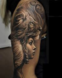 collection of 25 lion tattoo