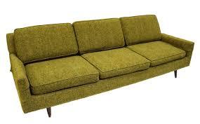 Sofa Mid Century Modern by Mid Century Modern Green Upholstered Sofa