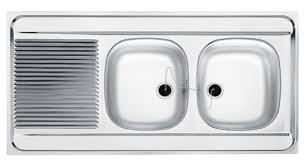 evier cuisine 120x60 evier à poser man721 120x60 cm 2 cuves 1 égouttoir réversible