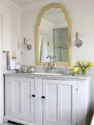 bathroom cabinets distressed white mirror frames small wall