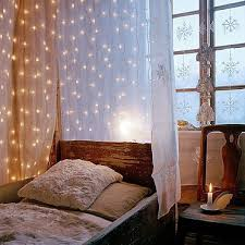 Bedroom Twinkle Lights 45 Ideas To Hang Lights In A Bedroom Shelterness Hanging