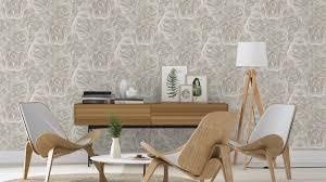 rasch wallpaper rasch wallpaper crispy paper grey white flower 525601