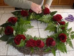 friendly biodegradable wreaths for burial at sea