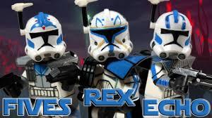 custom lego star wars the clone wars captain rex arc trooper