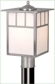 Outdoor L Post Lighting Fixtures Lighting Innova Lighting 3 Light Outdoor Led L Post Outdoor